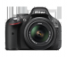 Nikon D5200 kit AF-S DX 18-55mm VR (VBA350K001)
